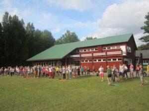 Vabaaja- ja puhkelaager Pärnumaal Pärlselja Puhkekeskuses juunis